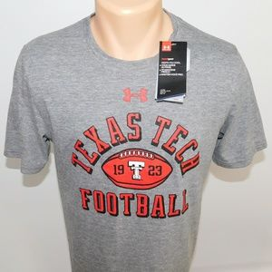 Under Armour Texas Tech Football tee shirt.  S